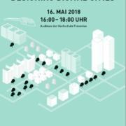 Zukunftsforum 2018: Designing Digital Cities