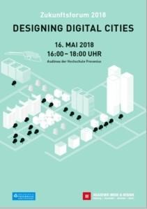 Zukunftsforum 2018: Designing Digital Cities